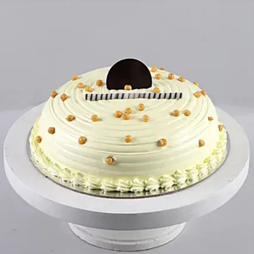 Butterscotch Cream Cake Half Kg