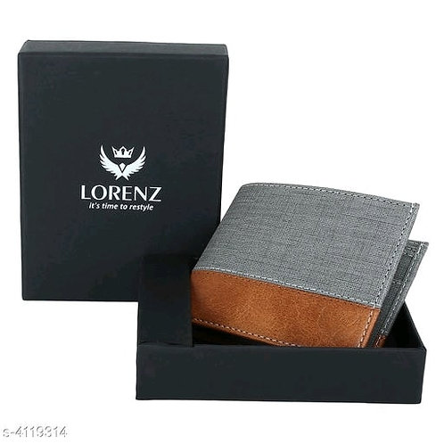 Eva Trendy Men Leather Wallet