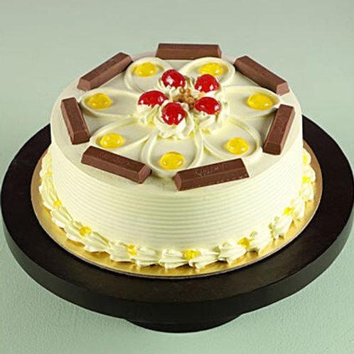 Butterscotch Kitkat Cake