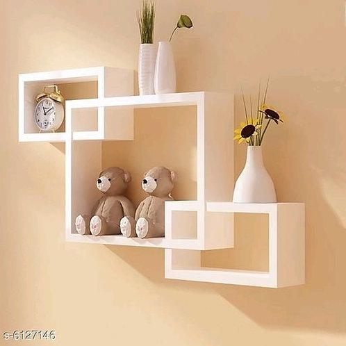 Elegant Wooden Wall Shelf