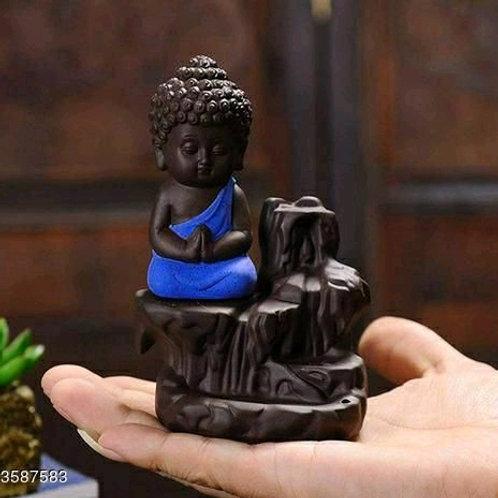 Monk Buddha Smoke Fountain