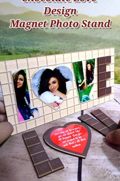 Magnetic LOVE Photo Frame