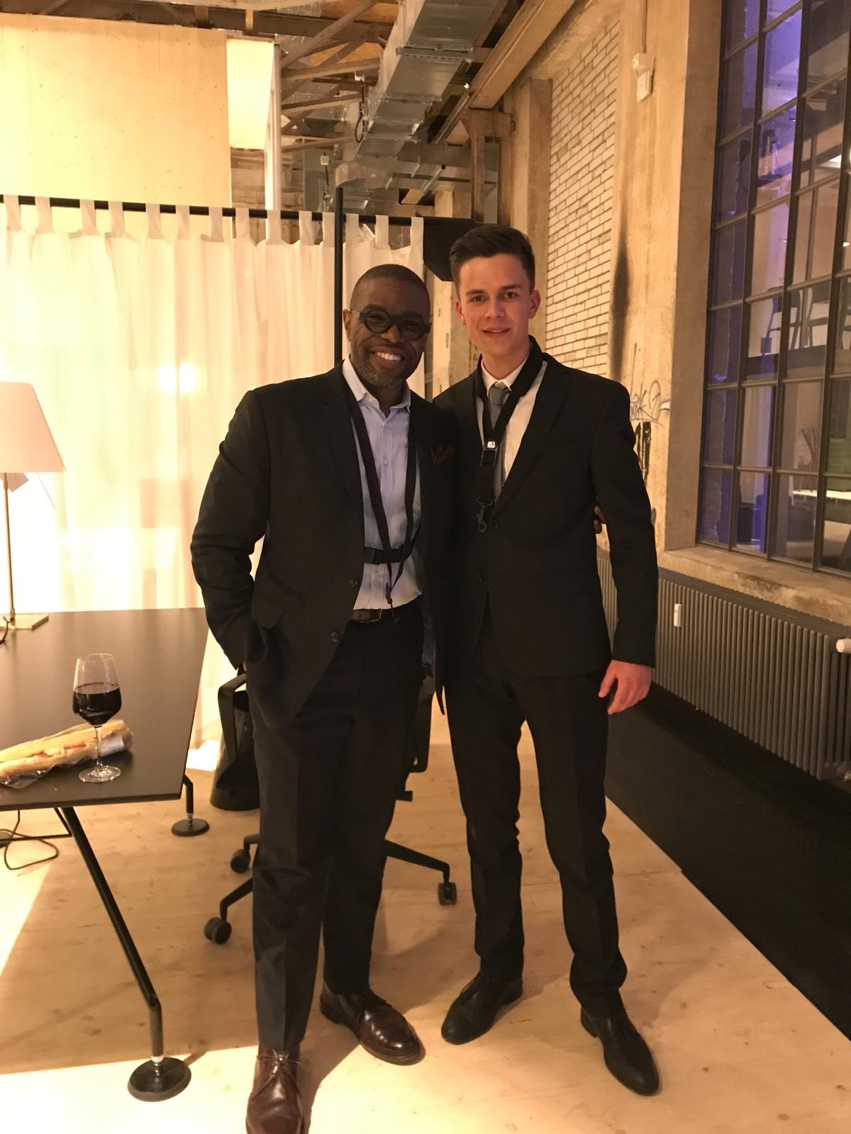 Antonio Hart & me