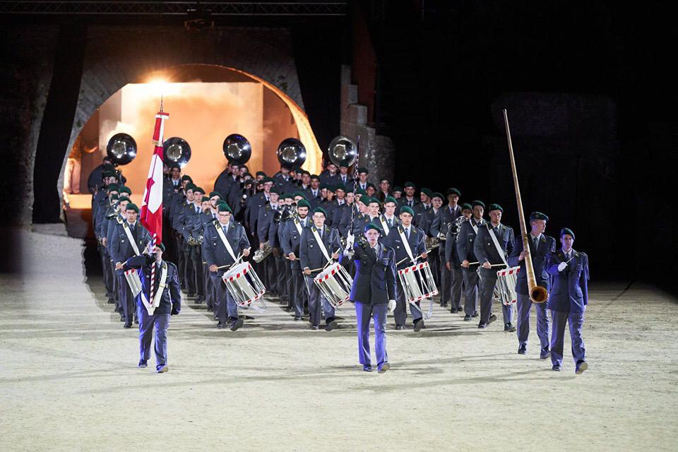 Swiss Army Marching Band, 2019