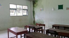 Sanierung der Schule MI Ma'arif Karanglewas