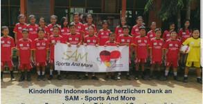 Sport-Equipment für zwei Schulen