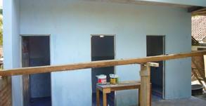 Neubau von Schultoiletten Grundschule SDN 2 Binangun