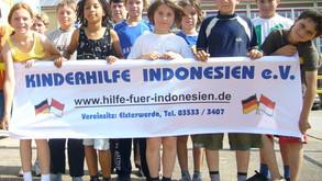 """1. Spendenlauf """"Schüler laufen für Kinder"""""""