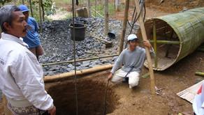 Bau von Brunnen und Zisternen