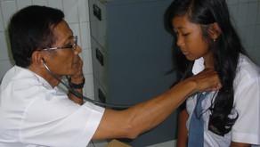 Vorsorgeuntersuchung für 100 Kinder