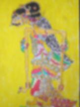 Wayang Figur gezeichnet von Patenkind.jp