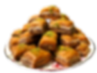 Baklava catered catering cater delicious fresh authentic light crisp natural healthy home-made hand-made family-owned baklava