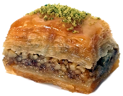 Baklava delicious fresh authentic light crisp natural healthy home-made hand-made family-owned baklava