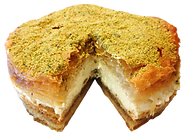 Baklava cake cream custard event party guests delicious fresh authentic light crisp natural healthy home-made hand-made family-owned baklava