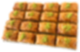 16-piece Feast Baklava delicious fresh authentic light crisp natural healthy home-made hand-made family-owned baklava