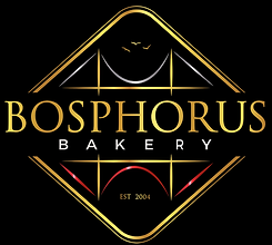 Bosphorus Baklava logo delicious fresh authentic light crisp natural healthy home-made hand-made family-owned business