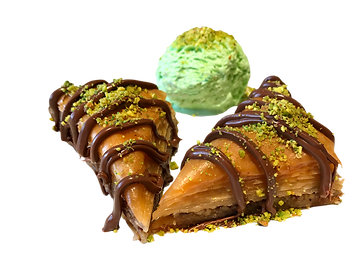 Baklava with nutella catered catering cater events parties wedding delicious fresh authentic light crisp natural healthy home-made hand-made family-owned baklava