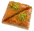 2-piece Twins Baklava delicious fresh authentic light crisp natural healthy home-made hand-made family-owned baklava