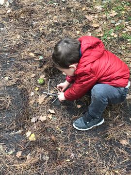 Creating a campfire!