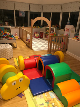 Our soft play and toddler area