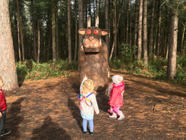 Visiting the Gruffalo!