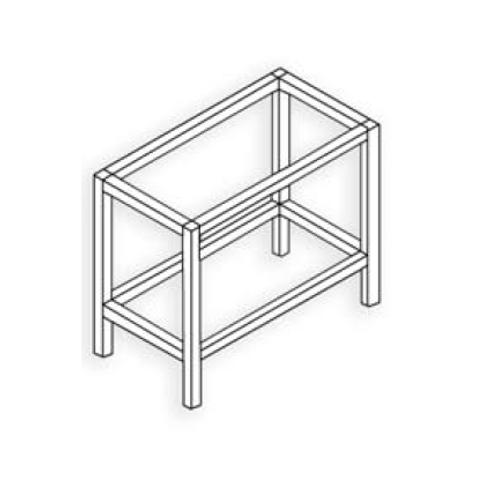 Estructura 20x20 Plata mate Tipo 7