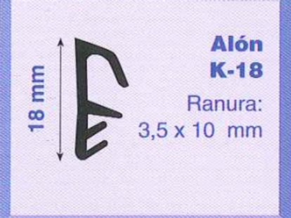 P.V.C. ALON K-18 Marrón