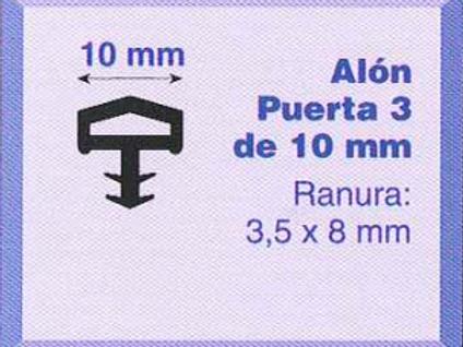 P.V.C. ALON PUERTA 3/10 Blanco