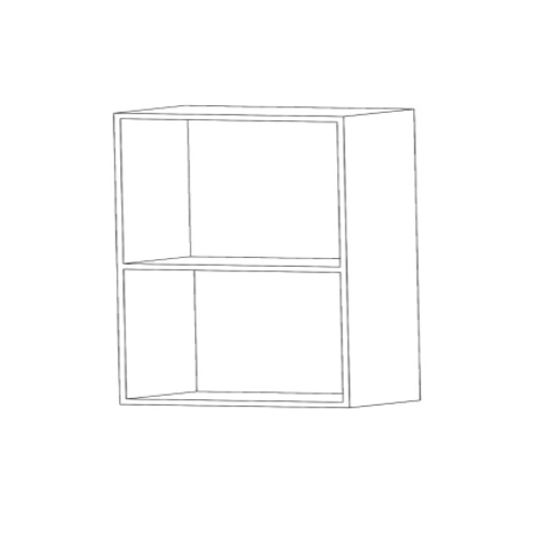Mueble alto microondas H780xF350xA500 sin estantes