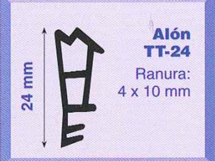 P.V.C. ALON TT-24 Marrón