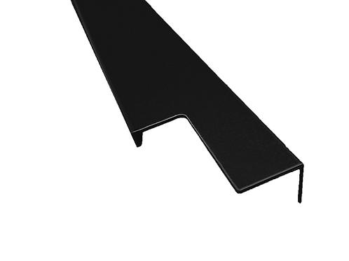Tirador corrido 40x18 Negro mate de 798 mm