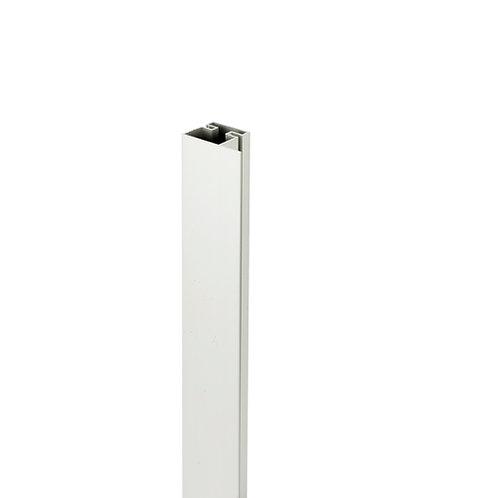 Tirador Gola plano vertical lateral Plata mate