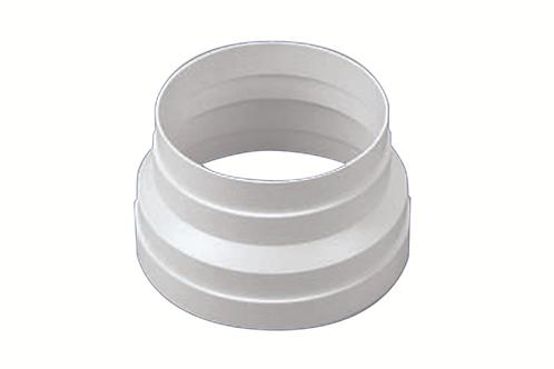 Adaptador de 120 a 150 mm. Blanco