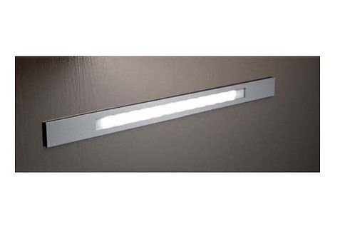 LED lineal inox 39 Led blanco cálido 420 mm
