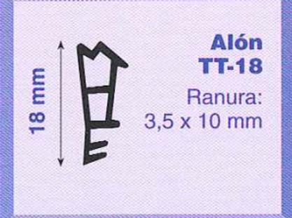 P.V.C. ALON TT-18 Marrón