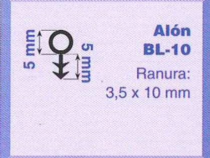 P.V.C. ALON BL-1/10 Negro