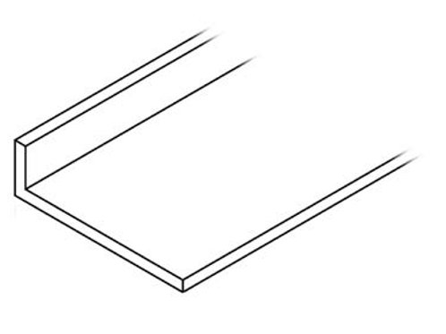 Perfil ángulo 80x40x3 Bruto 6,300 Metros
