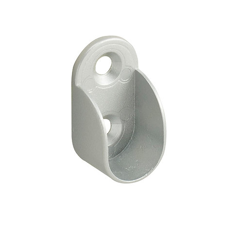 Soporte tubo oval 30x15-I cromo