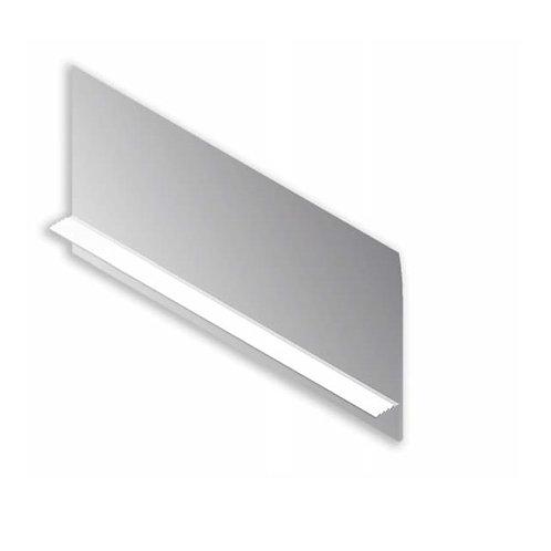 Tirador cristal Plata mate M-30