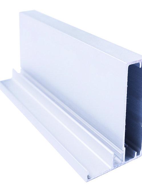 Perfil vitrina 45x35 Tirador43C411 Blanco brillo 3,25 metros
