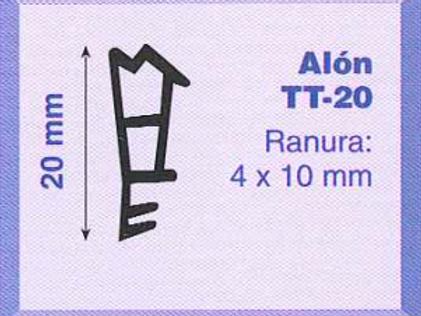 P.V.C. ALON TT-20 Marrón