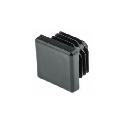 Tapón negro para sistema 20x20
