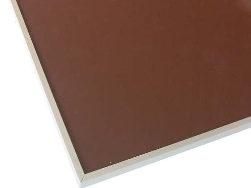Vitrina 19x20x7 43C401 con cristal colorestándar 898x448 Plata brillo