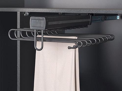 Pantalonero telescópico antracita aluminio - sencillo