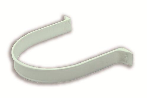 Abrazadera redonda D. 120 Blanca