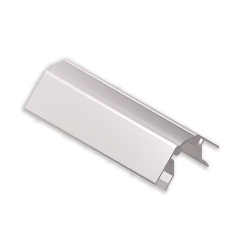 Esquina rincón graduable con zarpa grande 142mm Blanco brillo