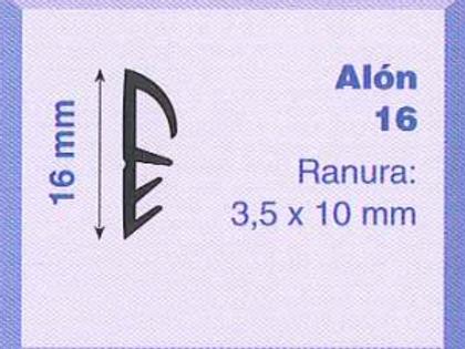 P.V.C. ALON 16 Marrón