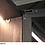 Thumbnail: Vitrina Elite con tirador Grigio Bromo con cristal parsol de 1498x498
