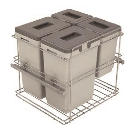 Cubo de basura Kombi M-45 30+30 Litros