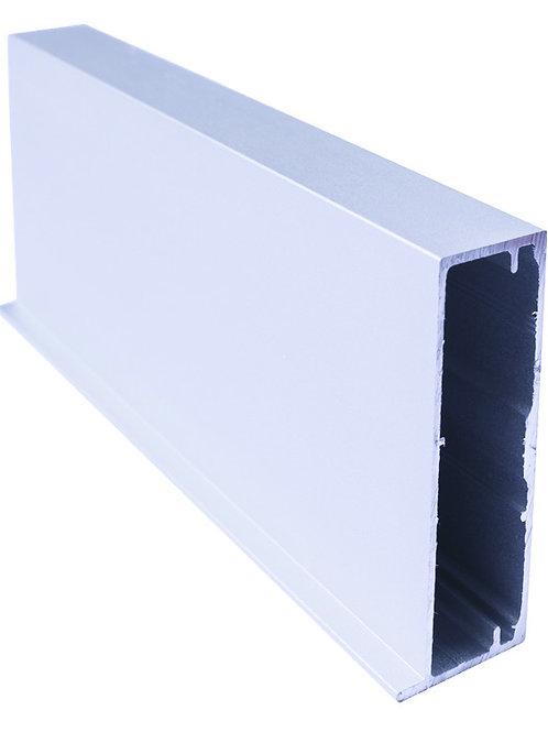 Perfil vitrina 45x20 sin pestaña Ref 43C407 Platamate3,25 metros